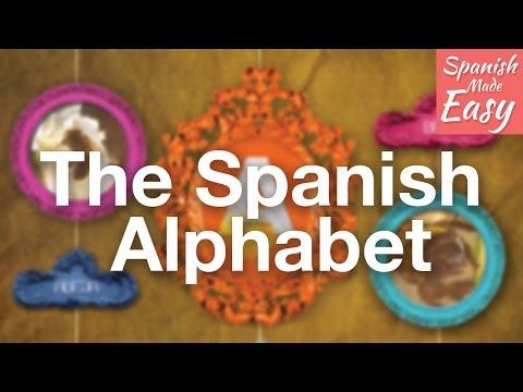Basic Spanish Lesson 1 | The Spanish Alphabet and Pronunciation  | Spanish Lessons