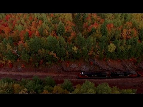 TRRS 483: 4-Train Meet in the Marquette Iron Range! Drone Video