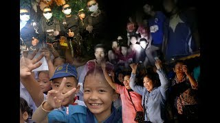 Mission accomplished: World cheers Thai cave rescue