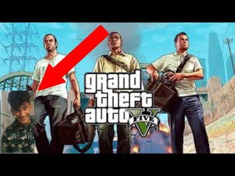 GTA V WITH A RETARD!