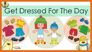 Get Dressed for the Day Song | The Singing Walrus