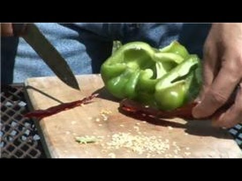 Growing Vegetables From Seeds : How to Harvest Bell Pepper Seeds