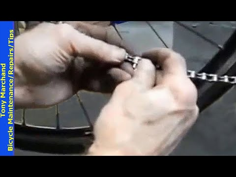 Roadside Bicycle Chain Repair - without master link