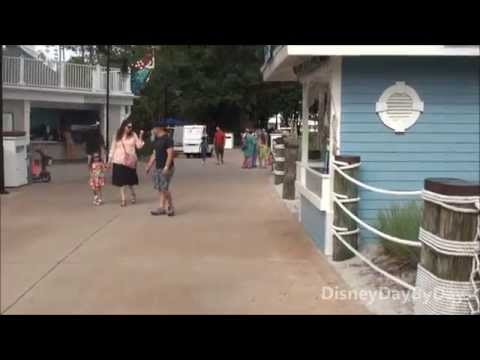 Walk to Epcot from Disney's Yacht and Beach Club - Walk with Us