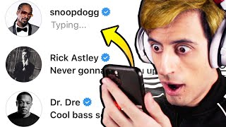 DMing Music Celebrities To See How Many Would Reply