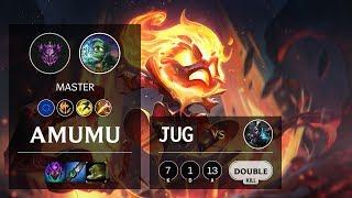 Amumu Jungle vs Ekko - EUW Master Patch 10.11