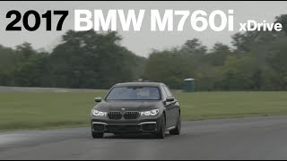 BMW M760i Hot Lap at VIR | Lightning Lap 2017 | Car and Driver
