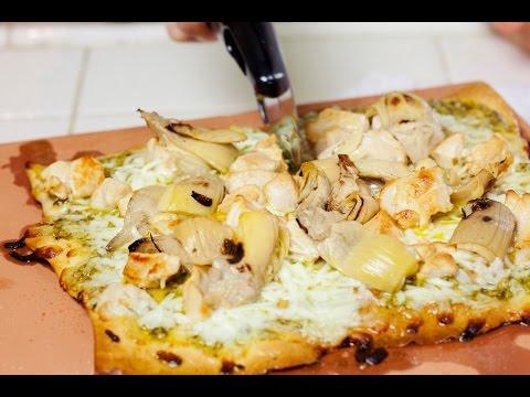 Chicken Pesto Flatbread