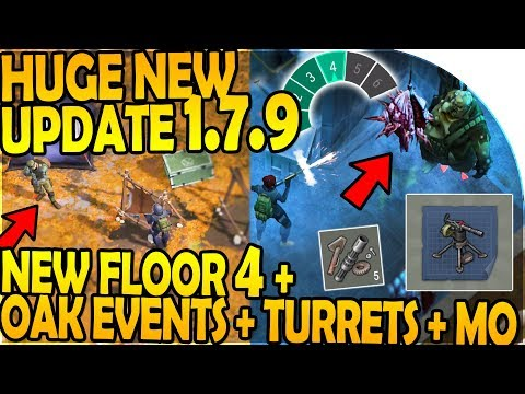 *HUGE* NEW UPDATE 1.7.9 - NEW BUNKER FLOOR 4 + OAK EVENTS - Last Day On Earth Survival 1.7.9 Update