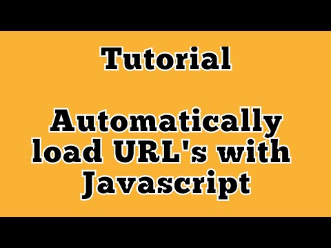 AUTOMATICALLY LOAD URL / WEBSITE WITH HTML + JAVASCRIPT - plus autofocus cursors in textbox