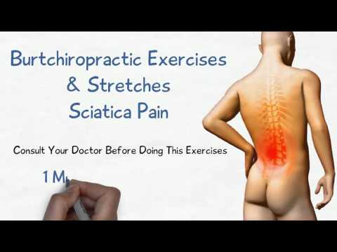 Sciatica Pain 1 Minute Exercises and Stretches