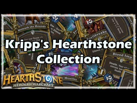 [Hearthstone] Kripp's Hearthstone Collection