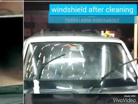 Windscreen Polish, Teflon coating and Headlight Restore-Removes Scratches & Marks