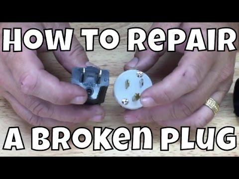 Broken Ground Plug Repair