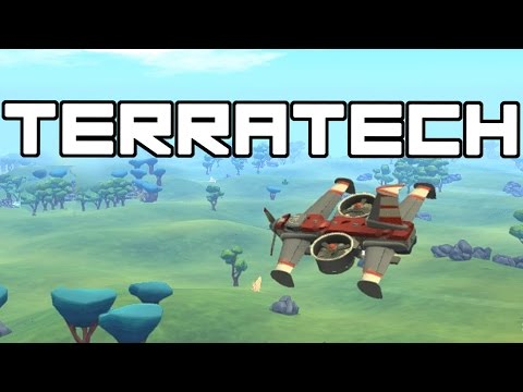 Terra Tech - Salt Flat Scout Plane!  - Terra Tech Gameplay