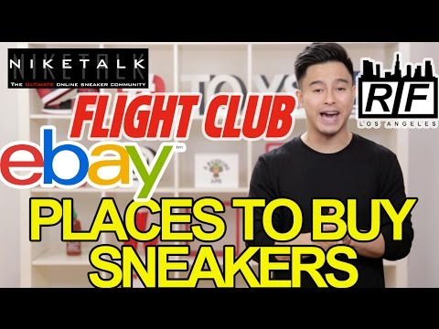 WHERE TO BUY SNEAKERS!