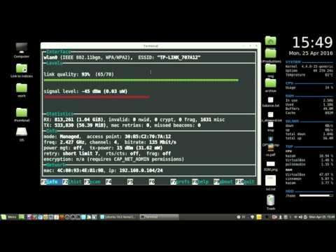 How to check your wifi signal strength in Linux Mint