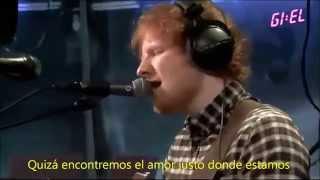 Ed Sheeran - Thinking Out Loud LIVE subtitulado al español