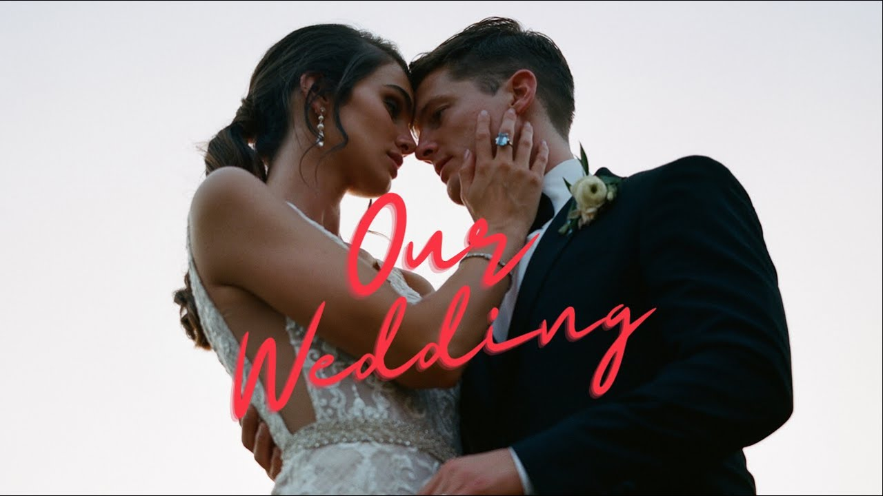 OUR WEDDING VIDEO!!! *Husband wrote the first dance song* | The Herbert's