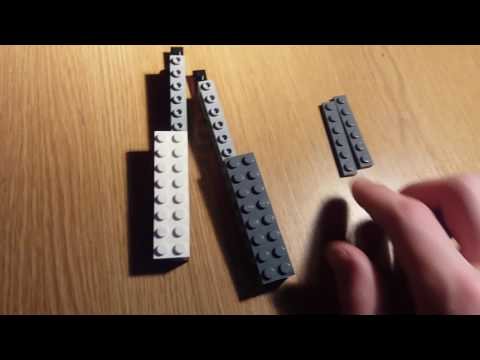 How to make an easy lego butterfly knife