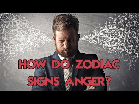 How Does Each Zodiac Sign Express Their Anger?