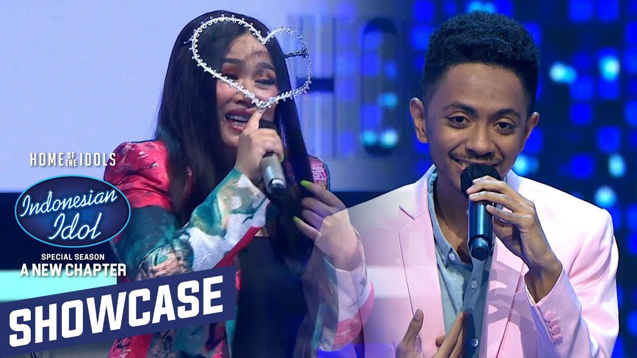 """Bagus! Duet Joy bersama Titi Dj membawakan lagu """"Bahasa Kalbu"""" - Showcase 1  -Indonesian Idol 2021"""
