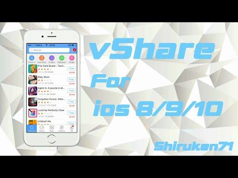 vshare on ios 9 (jailbroken)