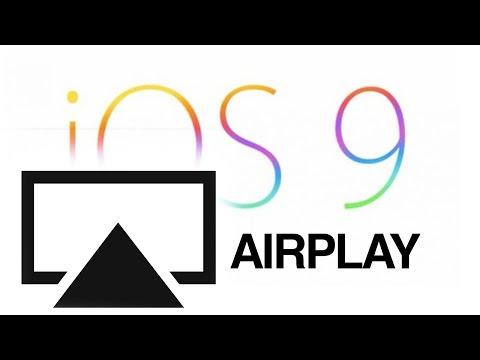 Como AirPlay en iOS 9 iPhone iPad iPod 9.0.1