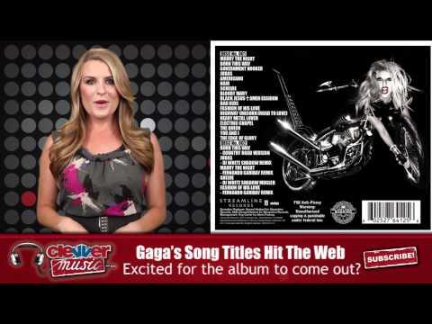 Lady Gaga 'Born This Way' Tracklisting Revealed