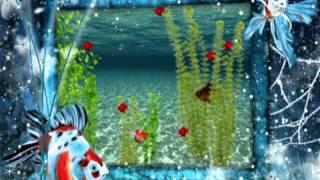 Animierte Goldfische