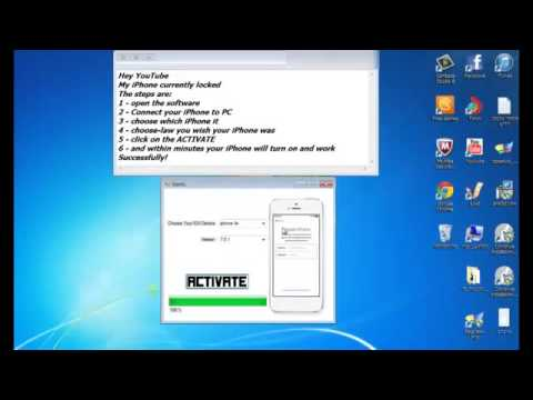 Tutorial - How to Fix/Unlock iCloud Locked iPhone - Disable Find My iPhone - iOS 7.1.1
