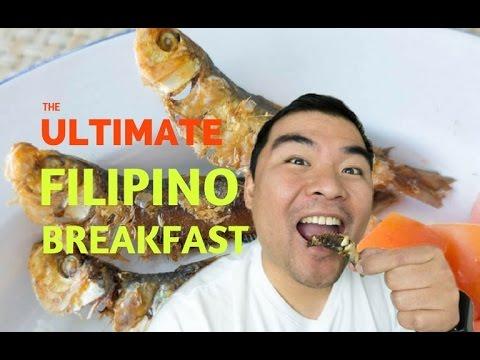 Tasting The Ultimate Filipino Breakfast - Tuyo, Sinangag, Salted Eggs, and Tomato