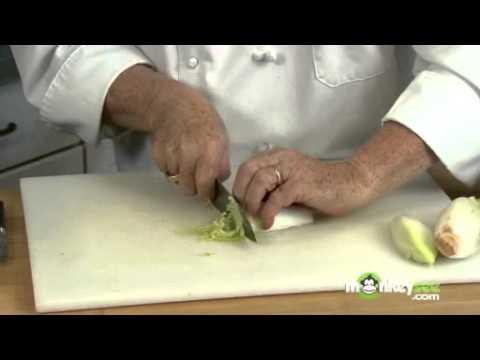 Cut Endive for Salad