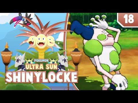 BODIED BY GUZMA! SHINY VIKAVOLT!! Pokemon Ultra Sun and Moon ShinyLocke Let's Play w/ aDrive! Ep 18