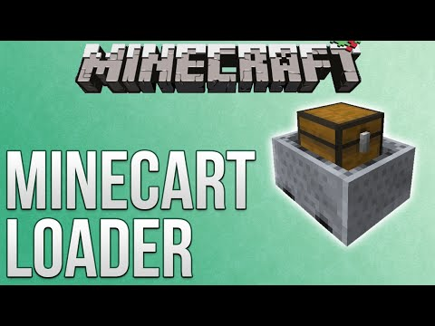 Minecraft: Adjustable Minecart Loader Tutorial (Redstone Advent Calendar)