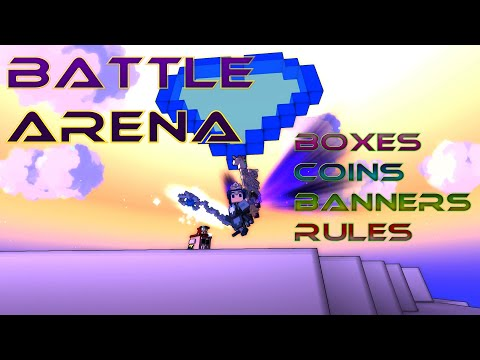 Battle arena boxes, coins, banners – Trove PvP