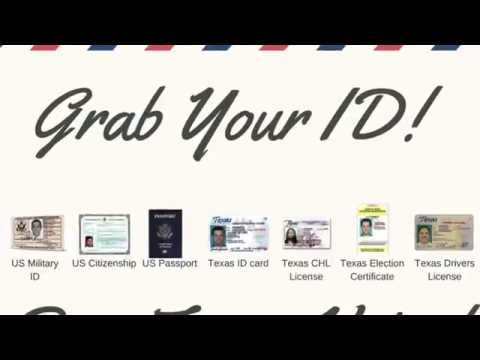 News Flash! Texas IDs Expanded!