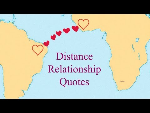 Distance doesn't matter when love is true | Relationship Quotes