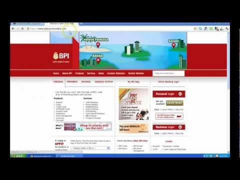 How to Apply for BPI Express Online Account Outside the Philippines