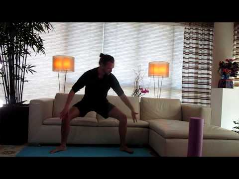 Horse Squat and Chair Pose:  Yoga With Matthew