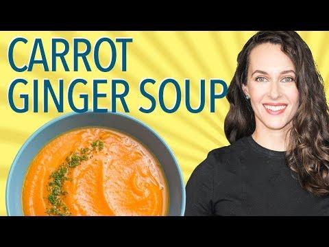 Carrot-Ginger Soup: Recipe Demo - Vegan Recipe