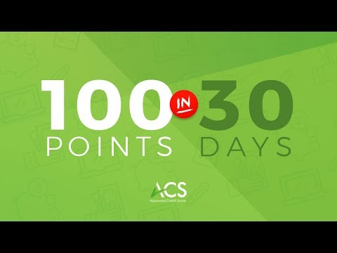 How To Raise Your Credit Score 100 Points Within 30 Days