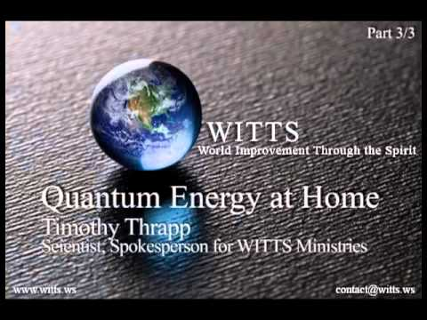 Quantum Energy   3 3   Audio Interview w  Timothy Thrapp   wits2014