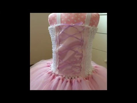 How to make a princess tutu dress
