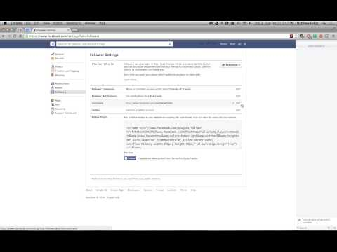 How to Prevent People From Following You on Facebook