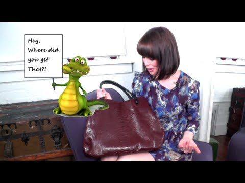 Must Have Designer Handbag Faux Exotic Skins