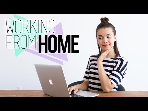 Working From Home // Tips for Staying Organized & Motivated