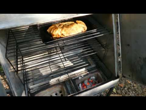Baking with a Charcoal Oven.