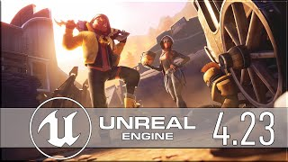 Unreal Engine 4.23 Released
