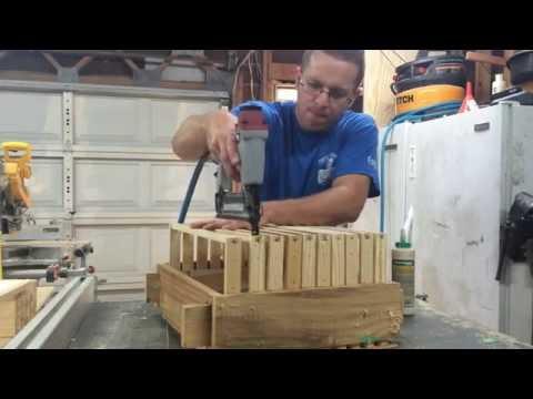 Frame Building Jig - Langstroth Beehive
